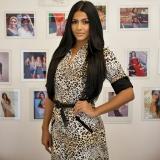 Kyrsha trabaja ocho horas diarias en su proceso de reina para Miss Universo.