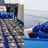 Guardacostas de la Armada incautan media tonelada de cocaína en La Guajira