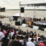 En el Malecón sonaron los boleros de Esthercita