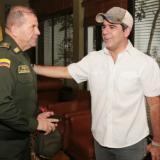 Alcalde Alejandro Char le da la bienvenida al nuevo comandante de la Policía Metropolitana