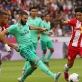 Real Madrid supera al Salzburgo en amistoso con un solitario tanto de Hazard