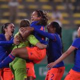 Selección Colombia Femenina vence por penales a Argentina y se queda con el oro en Panamericanos