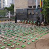 Policía Antinarcóticos incauta 2.252 kilos de cocaína en Cartagena