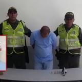 Edgardo Javier Tinoco Torres, capturado.