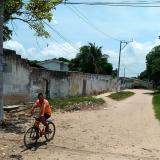 Lugar del ataque a bala en el barrio Mesolandia de Malambo.