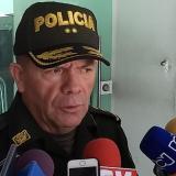 El comandante de la Policía Metropolitana de Barranquilla, general Ricardo Alarcón.