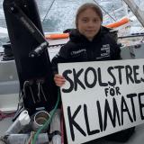 Condiciones climáticas retrasan llegada a Nueva York de ambientalista Greta Thunberg