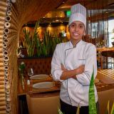 La chef Daniela Pérez se inspiró en fortalecer el sabor local.