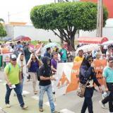Docentes recorrieron las calles en los municipios de Córdoba