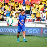 El jugador brasilero Neymar durante un encuentro en el estadio Metropolitano.