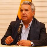 El presidente ecuatoriano Lenín Moreno.