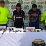 Desmantelan armería ilegal en el sur de Córdoba