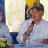 Presidente Iván Duque junto a Emilio Archila, Consejero Presidencial para la Estabilización y la Consolidación.