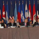 El canciller colombiano fue elegido presidente de la comisión.