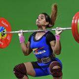 Leidy Solís logró las primeras medallas de oro de Colombia en el Mundial de Pesas que se cumple en Tailandia.