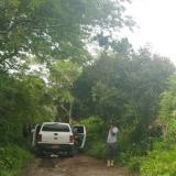 En esta zona y entre la maleza fue hallada la osamenta por un habitante del sector.