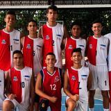 La Selección de voleibol masculino del colegio Normal Superior La Hacienda de Barranquilla.