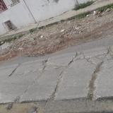 En el barrio El Bosque piden pavimentar vía principal