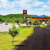 Ampliación de la vía a Cartagena, frenada por una gasolinera