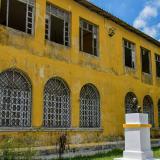 Aspecto de la fachada de la IED Camilo Torres Tenorio, ubicada en el barrio Lucero.