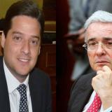 Mauricio Gómez Amín y Álvaro Uribe Vélez.