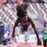 Caterine Ibargüen en busca de un salto glorioso en Doha