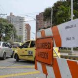 Tránsito anuncia cierre de vías durante el fin de semana