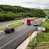 La construcción de la doble calzada se inicia en el kilómetro 87+116 de la vía Cartagena–Barranquilla.