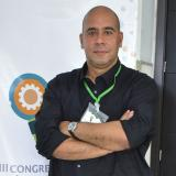 Javier Trespalacios, minutos antes de la conferencia.