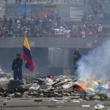 En video | A pesar del toque de queda, continúan protestas en Ecuador