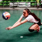 ¡A jugar se dijo!   Isabella López, entre el voleibol y el modelaje