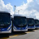 Con 13 buses a gas empieza a operar ruta de Barranquilla a Soledad