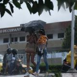 Reportan lluvias intermitentes desde diferentes sectores de Barranquilla