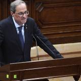 El presidente de la Generalidad de Cataluña, Quim Torra.