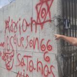En video   Ciénaga: mensajes satánicos en el cementerio de 'los ricos'