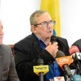 Dirigentes del partido político de las Farc.