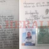 Esta es la carta con la que el rector de la Uniatlántico autorizó el ingreso del Esmad