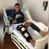 """""""Voy a recuperarme para seguir luchando por mi sueño, ir a la Selección"""": Alexis Pérez"""