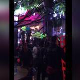 Emergencia en Bogotá por desplome de una tarima en restaurante de la zona rosa
