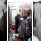 Emergencia por colapso parcial de una vivienda en Soledad