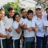 Estudiantes de una institución educativa en Montería.