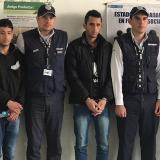 Los ciudadanos extranjeros expulsados del país por Migración Colombia.