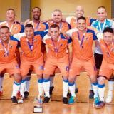 Los integrantes del equipo campeón.