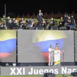 Acto de inauguración de los Juegos Nacionales 2019.