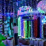 Lila y azul, los colores para decorar en esta Navidad