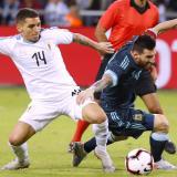 Argentina y Uruguay empatan 2-2 en Israel