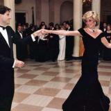 Momento en que la princesa bailó con el actor