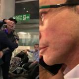 En video | Carlos Caicedo denuncia agresión de Álvaro Cotes Vives en aeropuerto de Bogotá