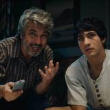 Ricardo Darín y 'Chino' Darín en La odisea de los Giles.