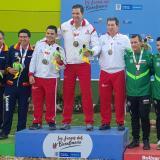 Atlántico, oro en tiro deportivo en los Juegos Nacionales Bolívar-2019